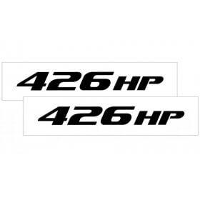 2010-2015 Camaro Hood Rise Decal Set 426 HP