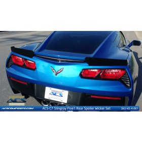 C7 Corvette ACS Five1 Z51 Wicker Spoiler Conversion Kit