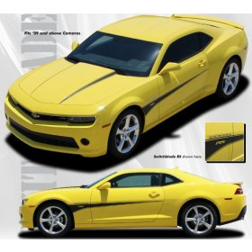 2010-2015 Camaro Switchblade Hood and Side Stripe Kit