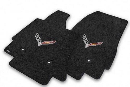 C7 Corvette Stingray Lloyds Embroidered Floor Mats