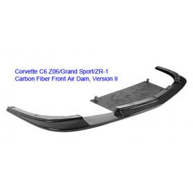 C6 Corvette  Z06 Carbon Fiber VII Front Splitter Without Under Tray
