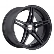 C7 Corvette Cray Brickyard Matte Black Wheels Set